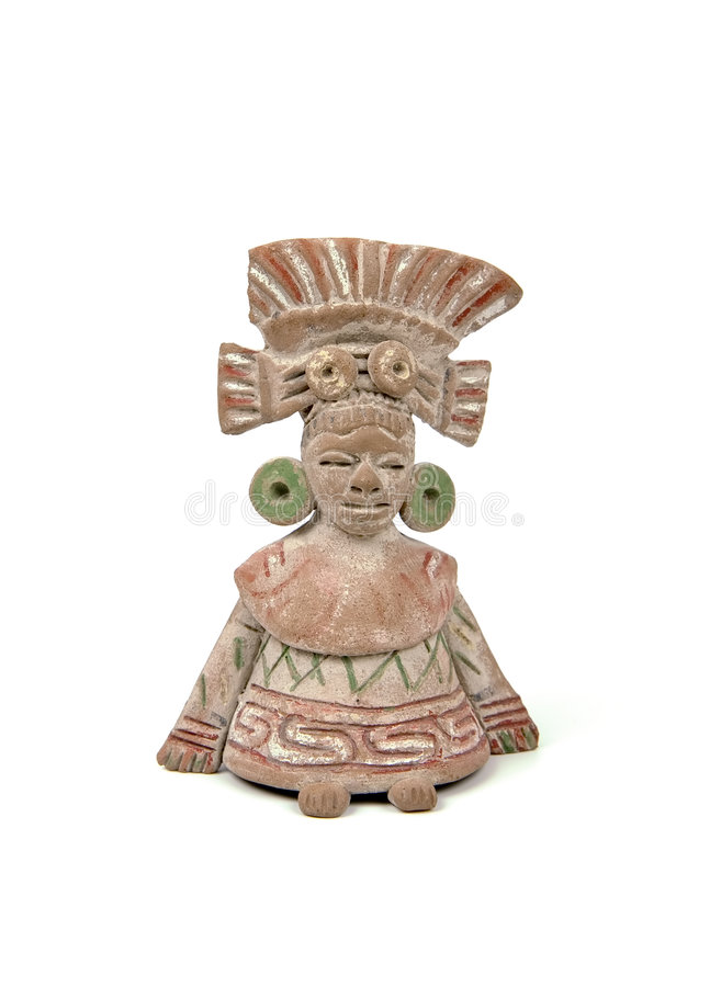 Download Isolated mayan terracotta stock photo. Image of america - 2315210