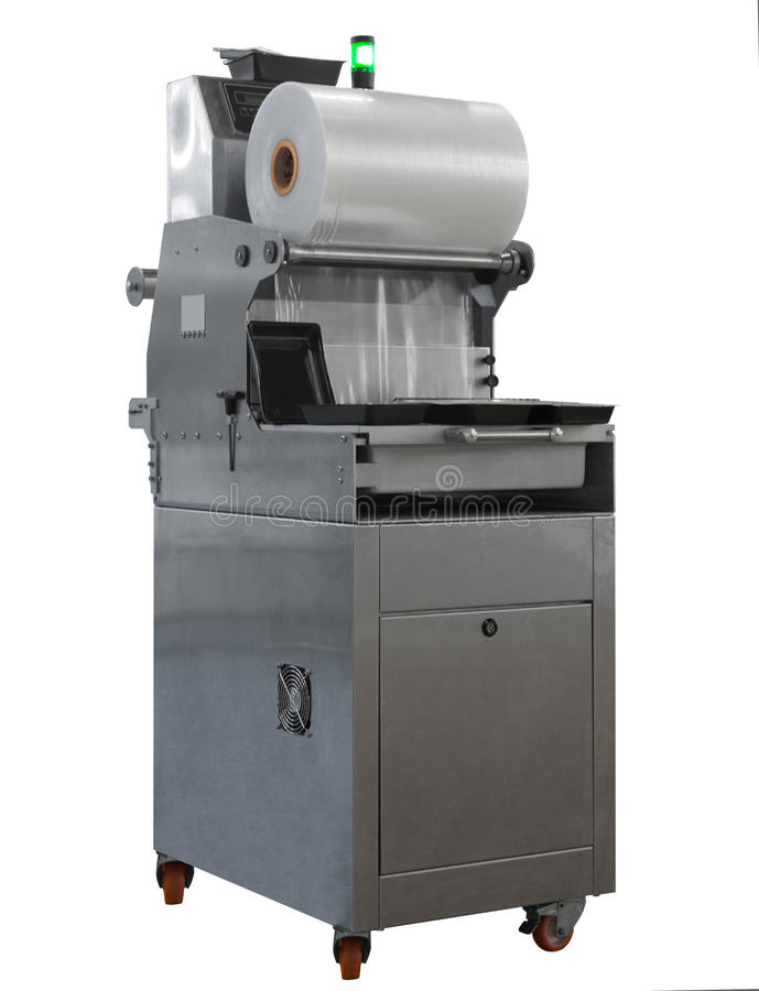 Free Isolated Modern Packing Machine Royalty Free Stock Photos - 48958088