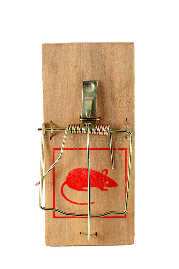 Free Isolated Mouse Trap Stock Photo - 18993060