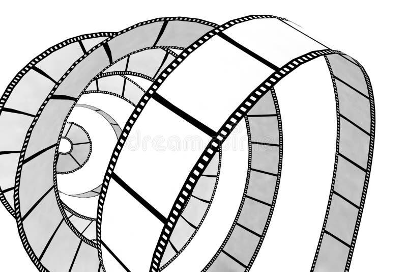 Isolated movie/photo film vector illustration