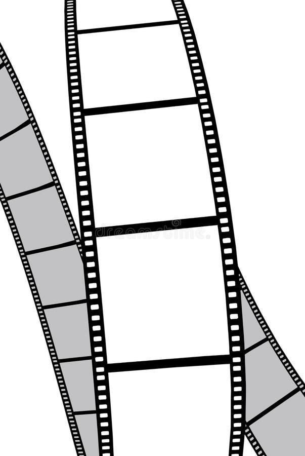 Isolated movie/photo film stock illustration