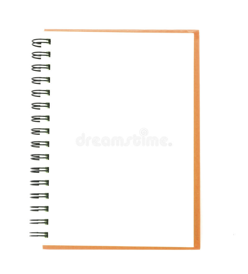 Download Isolated notebook stock photo. Image of close, letter - 39507156