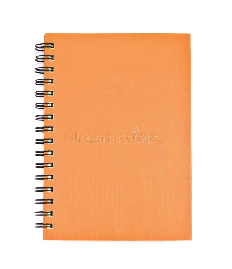 Download Isolated Notebook On White. Stock Image - Image of letter, notepad: 39507235