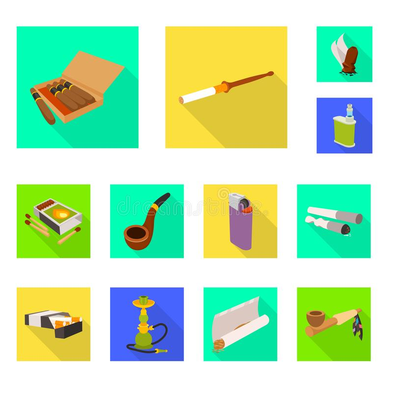 Vector illustration of accessories and harm icon. Collection of accessories and euphoria stock symbol for web. Isolated object of accessories and harm symbol royalty free illustration