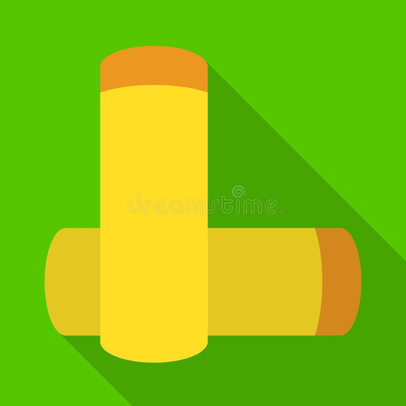 Isolated object of battery and alkaline logo. Set of battery and capacity vector icon for stock. Vector design of battery and alkaline icon. Collection of royalty free illustration