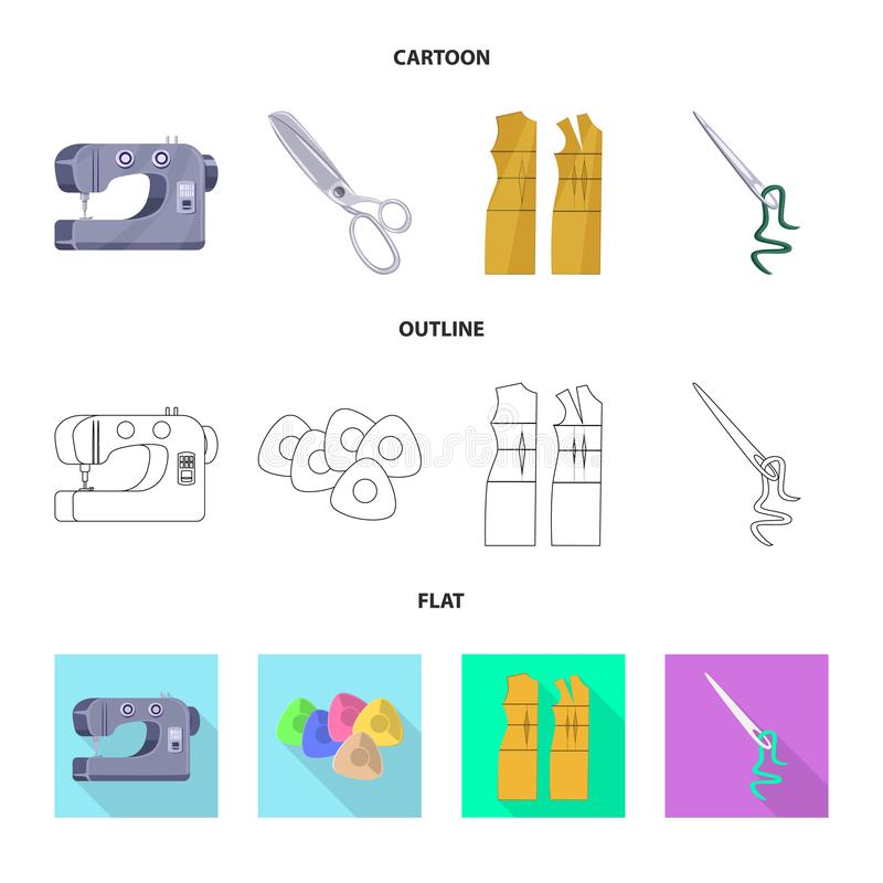Isolated object of craft and handcraft icon. Collection of craft and industry vector icon for stock. Vector design of craft and handcraft symbol. Set of craft royalty free illustration