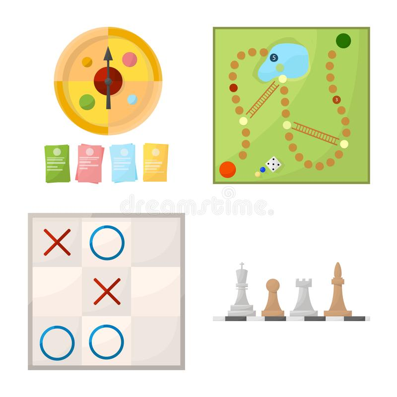 Isolated object of gambling and concept icon. Collection of gambling and jackpot vector icon for stock. Vector design of gambling and concept symbol. Set of royalty free illustration