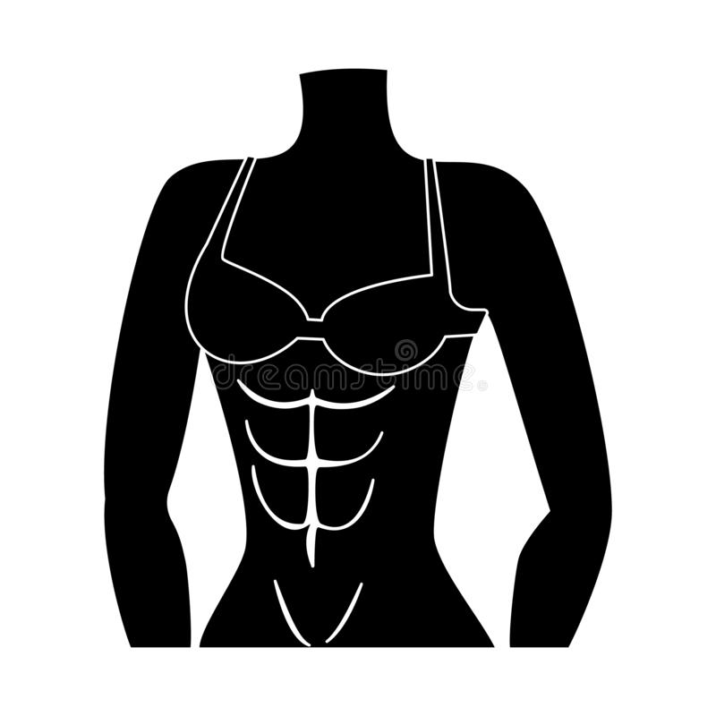 Vector illustration of muscle and cells logo. Set of muscle and anatomy stock symbol for web. Isolated object of muscle and cells icon. Collection of muscle and royalty free illustration