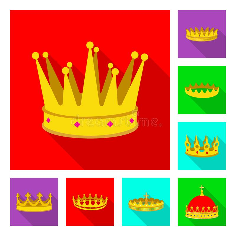 Free Isolated Object Of Medieval And Nobility Sign. Collection Of Medieval And Monarchy Stock Symbol For Web. Stock Image - 148954351