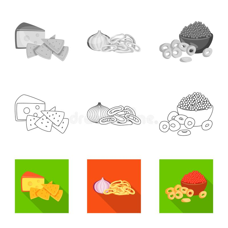 Isolated object of taste and seasonin icon. Collection of taste and organic   vector icon for stock. Vector design of taste and seasonin symbol. Set of taste vector illustration