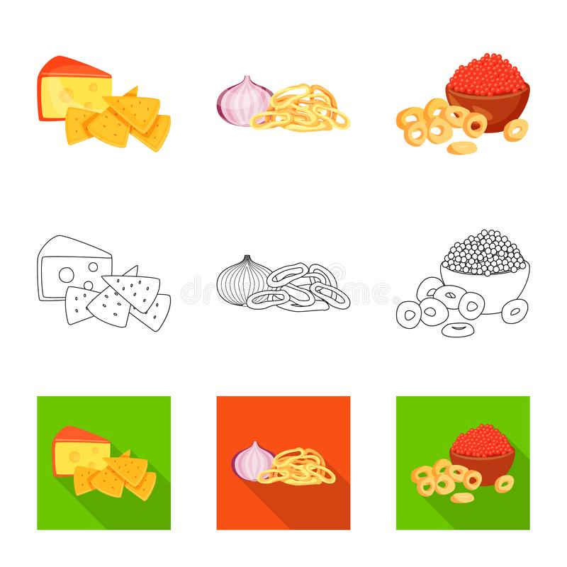Isolated object of taste and seasonin icon. Set of taste and organic   stock vector illustration. Vector design of taste and seasonin symbol. Collection of royalty free illustration