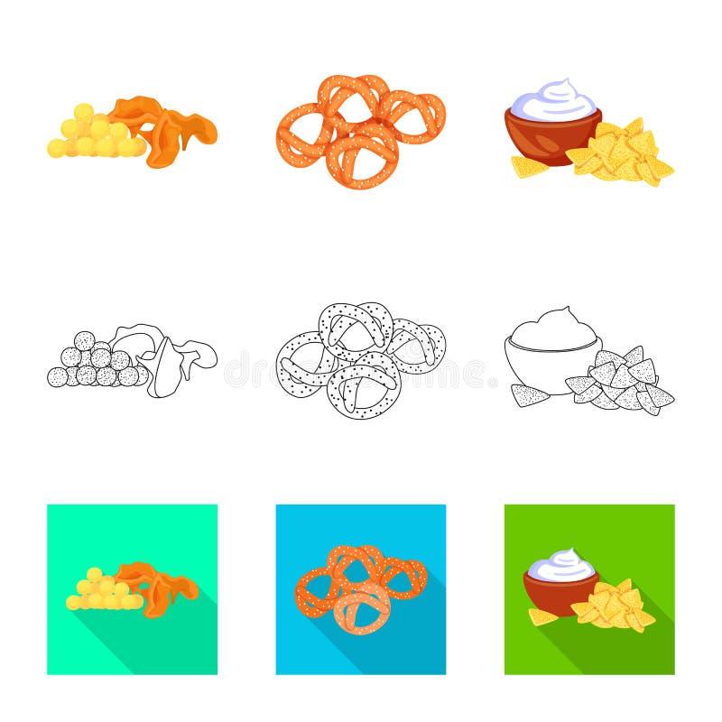 Vector illustration of taste and seasonin sign. Collection of taste and organic   vector icon for stock. Isolated object of taste and seasonin logo. Set of royalty free illustration