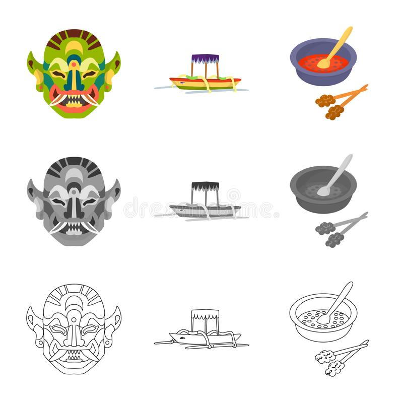 Isolated object of and travel logo. Set of and traditional vector icon for stock. Vector design of and travel icon. Collection of and traditional stock symbol stock illustration