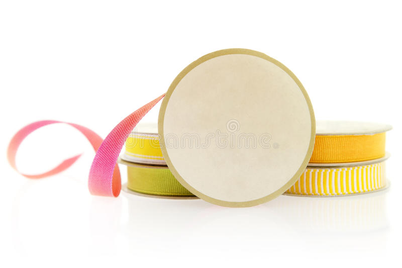 Download Isolated Objects: Ribbons For Craft Projects. Stock Image - Image: 24000155