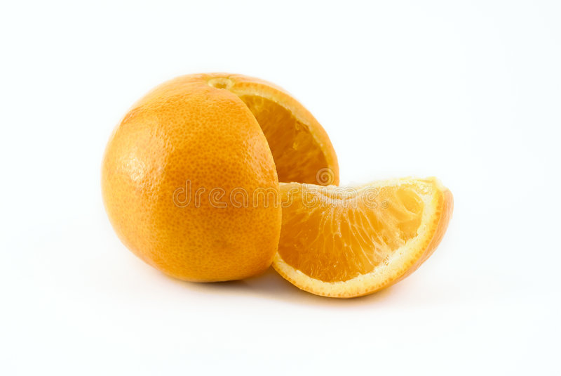 Download Isolated orange stock image. Image of refreshment, brightly - 6469437