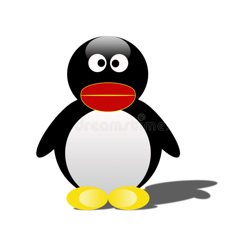 Download Isolated Penguin stock illustration. Image of outdoor, frosty - 948886