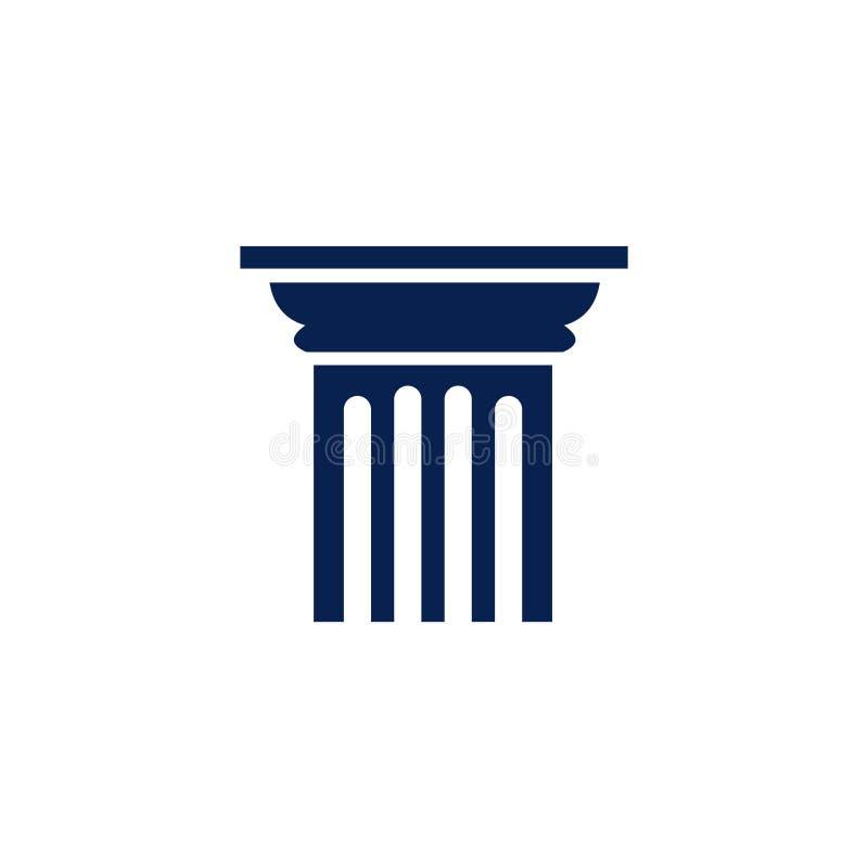 Free Isolated Pillar Icon Logo Vector Royalty Free Stock Photos - 169665928