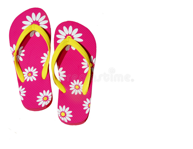 Download Isolated Pink Flip Flops Stock Images - Image: 2973614