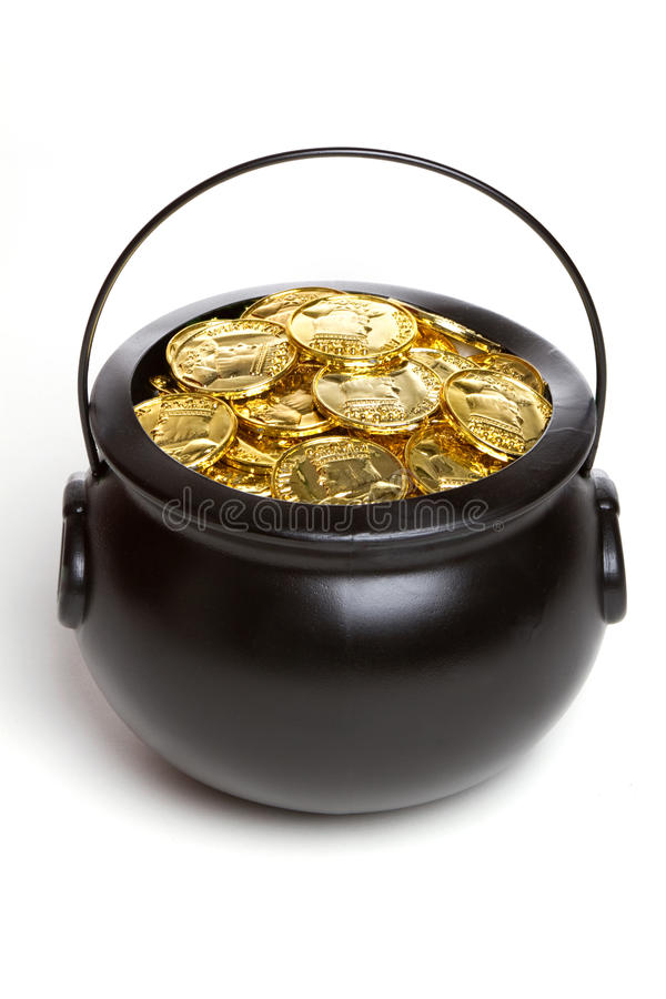 Free Isolated Pot Of Gold Stock Photo - 13117810