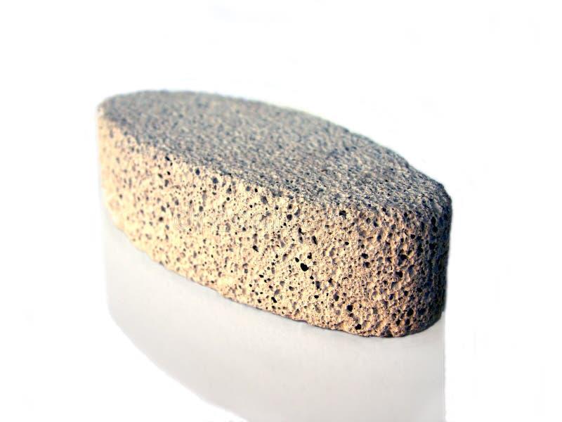 Isolated Pumice Stone Stock Image