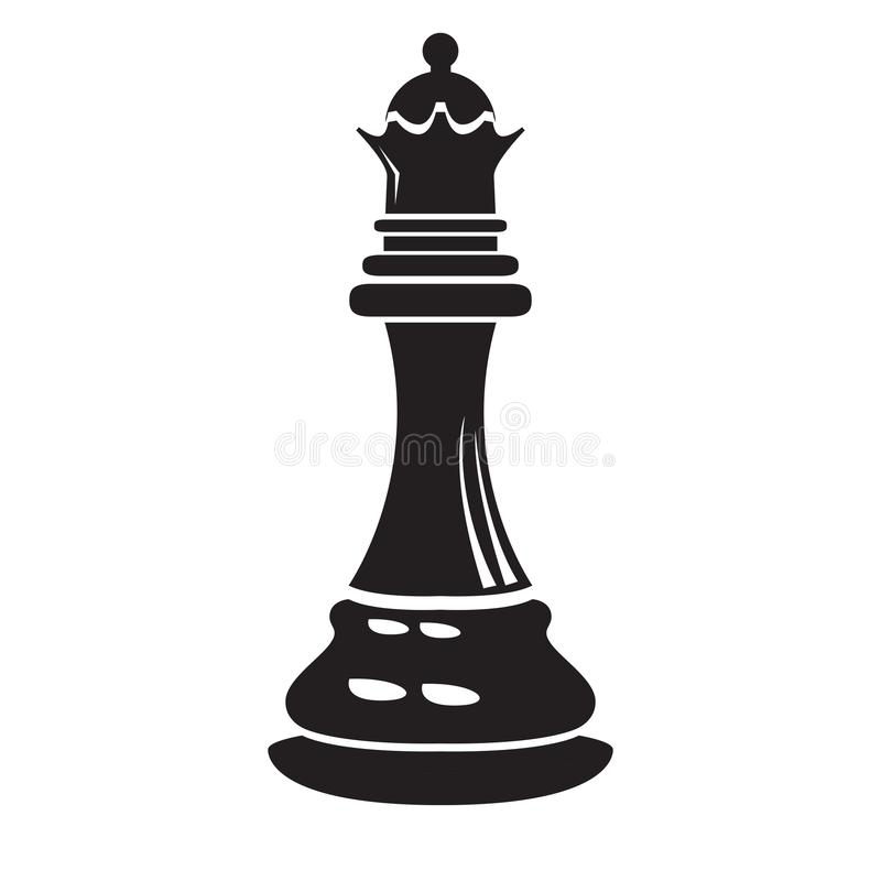 Free Isolated Queen Chess Piece Icon Stock Photography - 124645872