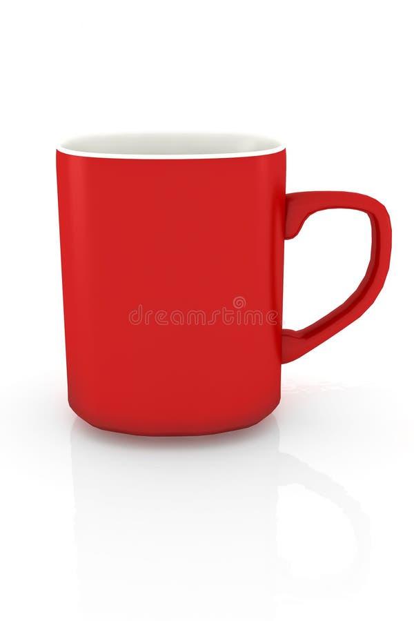 Free Isolated Red Coffee Mug Royalty Free Stock Photos - 3218798