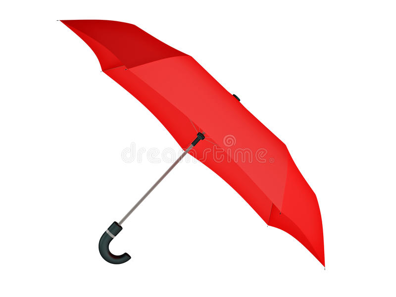 Download Isolated Red Umbrella Royalty Free Stock Photos - Image: 26375588