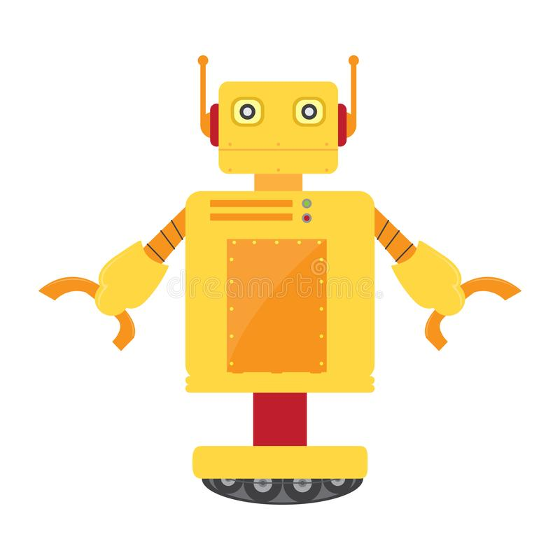 Isolated robot toy - Vector. Isolated robot toy for kids - Vector illustration