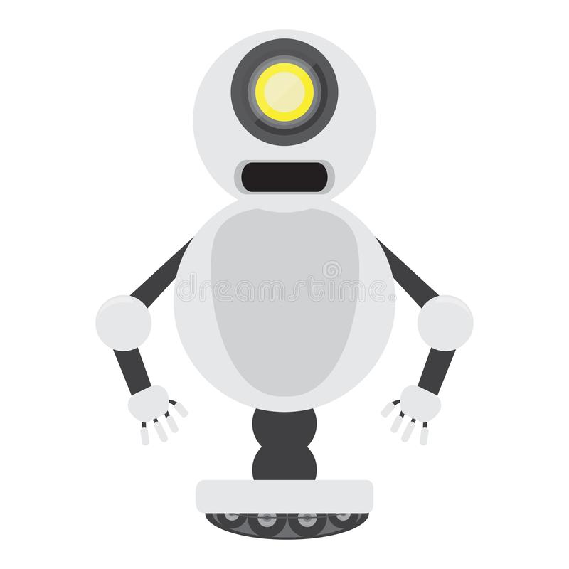 Isolated robot toy - Vector. Isolated robot toy for kids - Vector illustration vector illustration