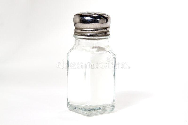 Isolated Salt Shaker stock photos