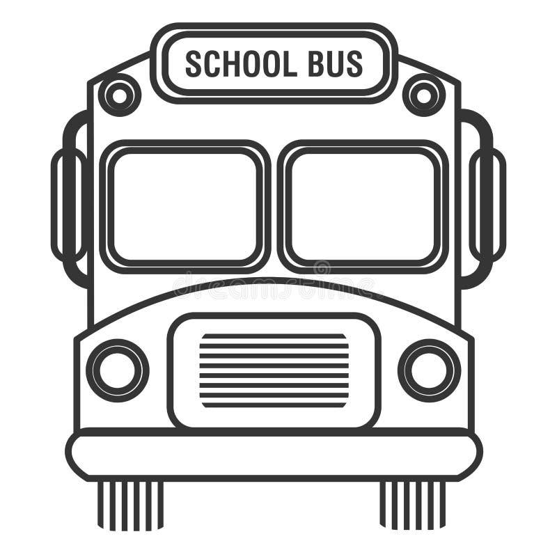 Isolated School Bus, Vector Graphic Stock Vector ...