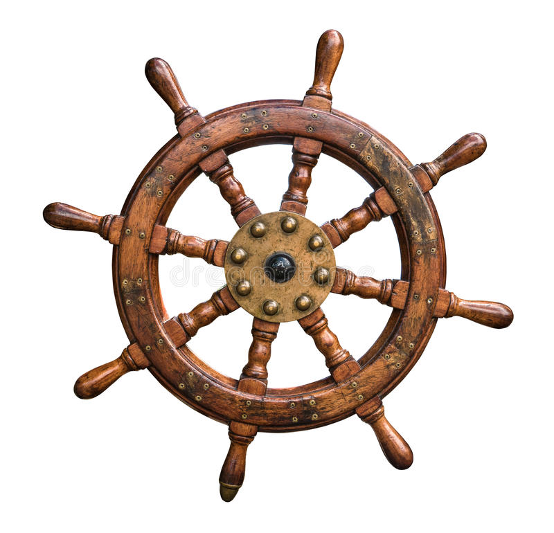 Free Isolated Ships Wheel Stock Images - 61991294