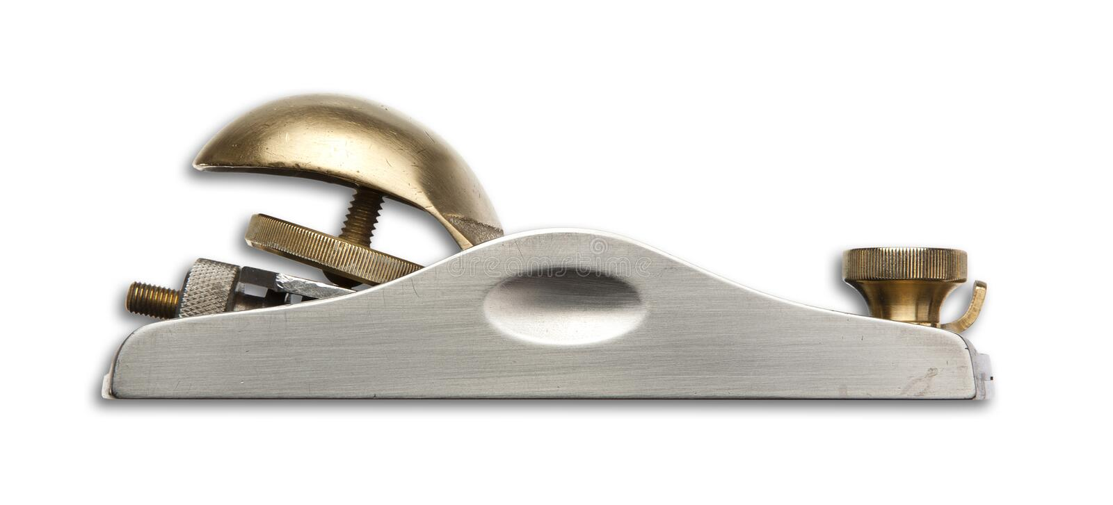An isolated shot of a precision carpentry Block Plane stock images