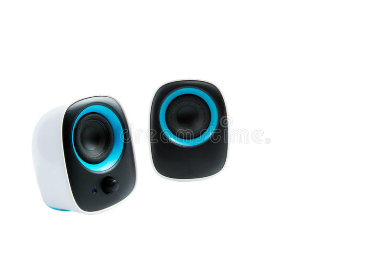 Download Isolated Small Loudspeakers Royalty Free Stock Photos - Image: 32995608