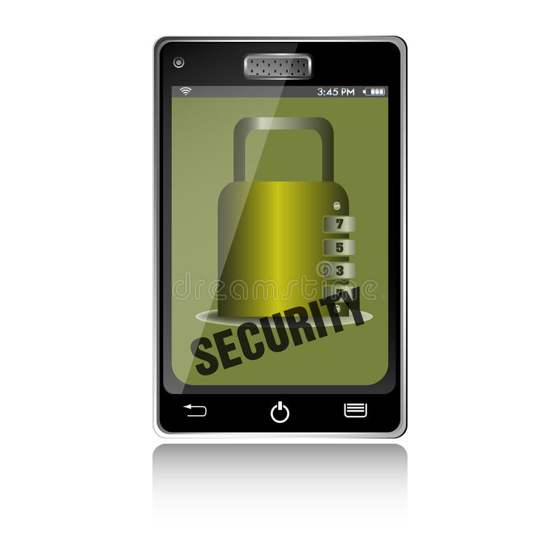 Phone security stock photography