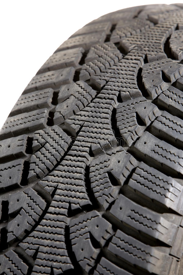 Isolated Snow Tire