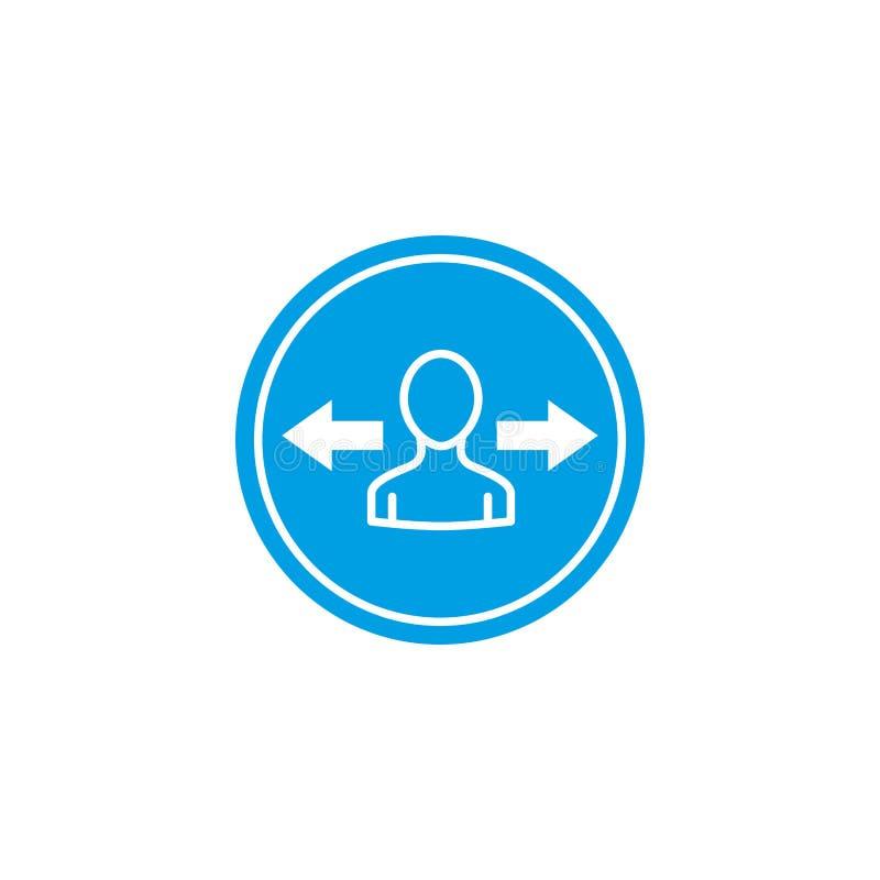 Isolated social media avatar icon block flat design vector illustration