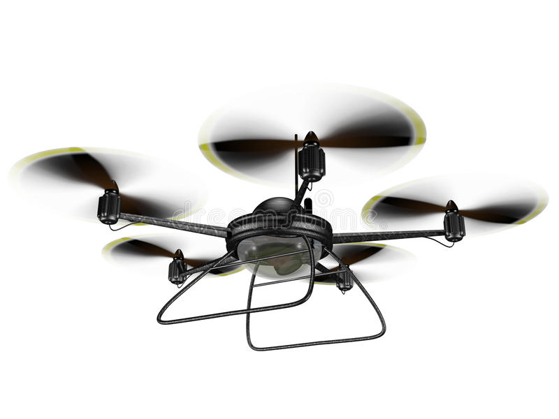 Download Isolated Spy Drone stock illustration. Image of remote - 31538970