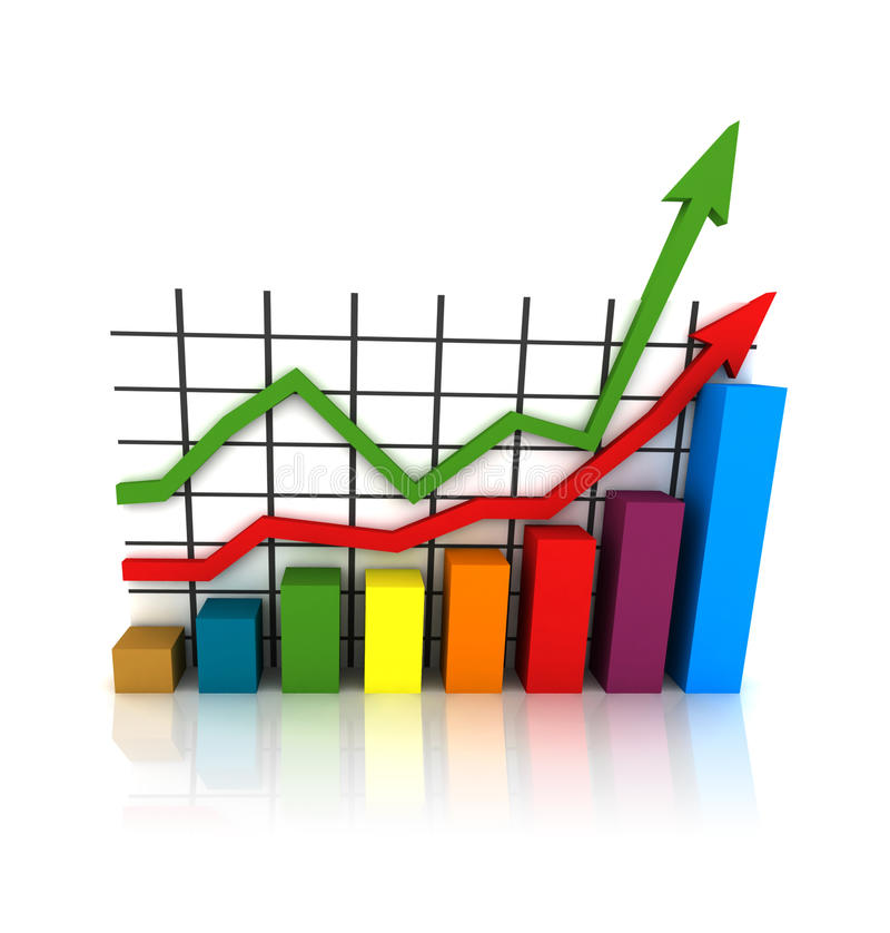 Download Isolated statistics stock illustration. Illustration of goal - 10479290