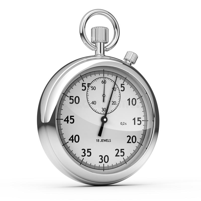 Free Isolated Stopwatch Stock Images - 11498394