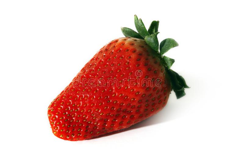 Isolated strawberry stock photos