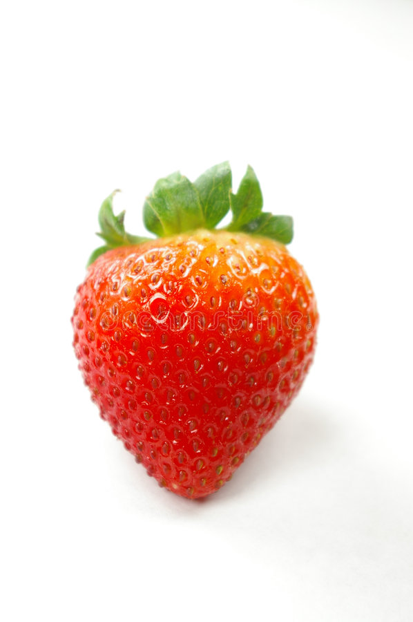 Free Isolated Strawberry Royalty Free Stock Image - 876006