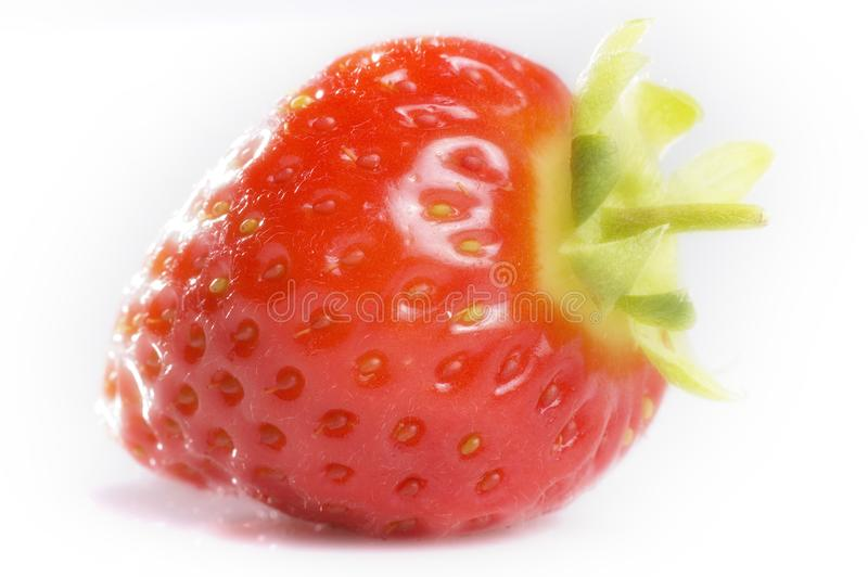 Isolated strawberry stock photography