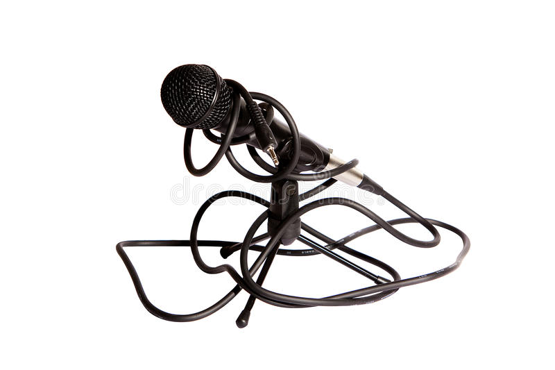 Download Isolated studio microphone stock photo. Image of revival - 11487736
