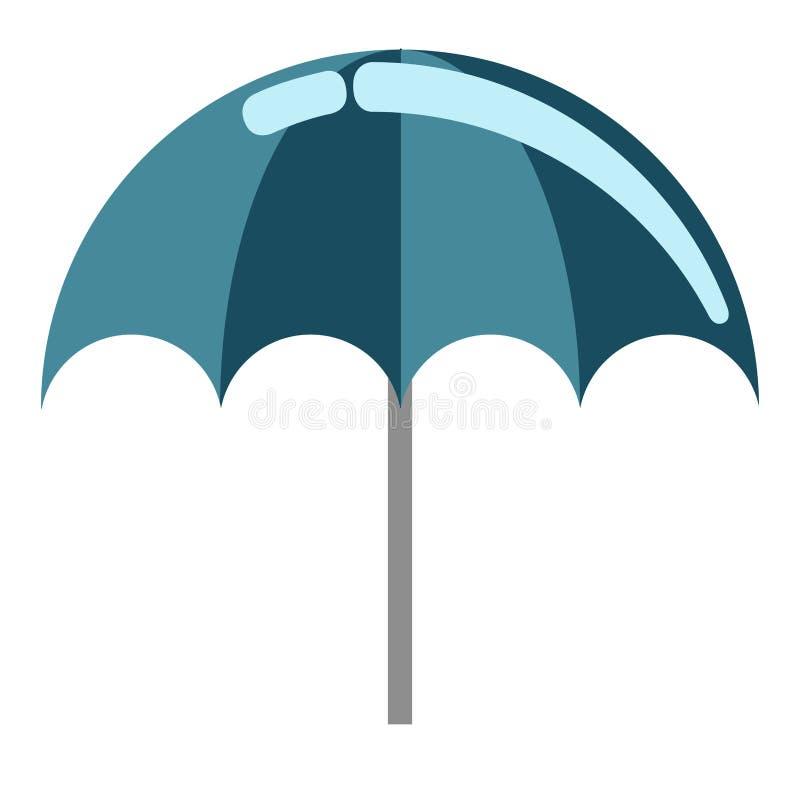 Summer umbrella icon. Isolated summer umbrella icon. Vector illustration design stock illustration
