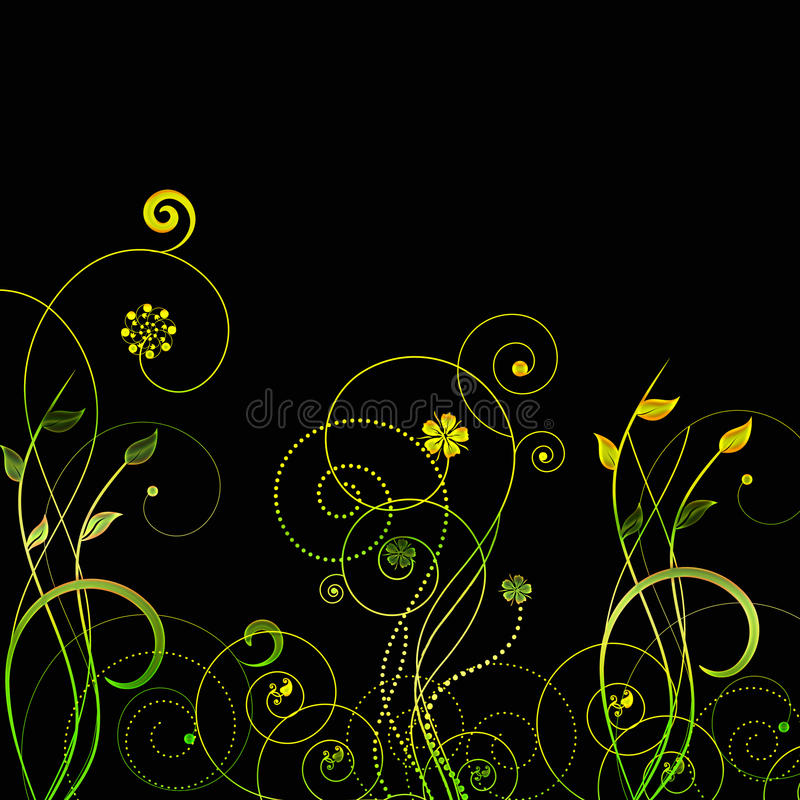 Isolated swirls vector vector illustration
