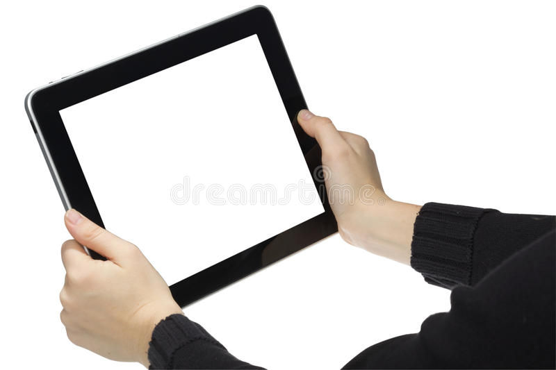 Download Isolated tablet. stock image. Image of tablet, liquid - 21961543