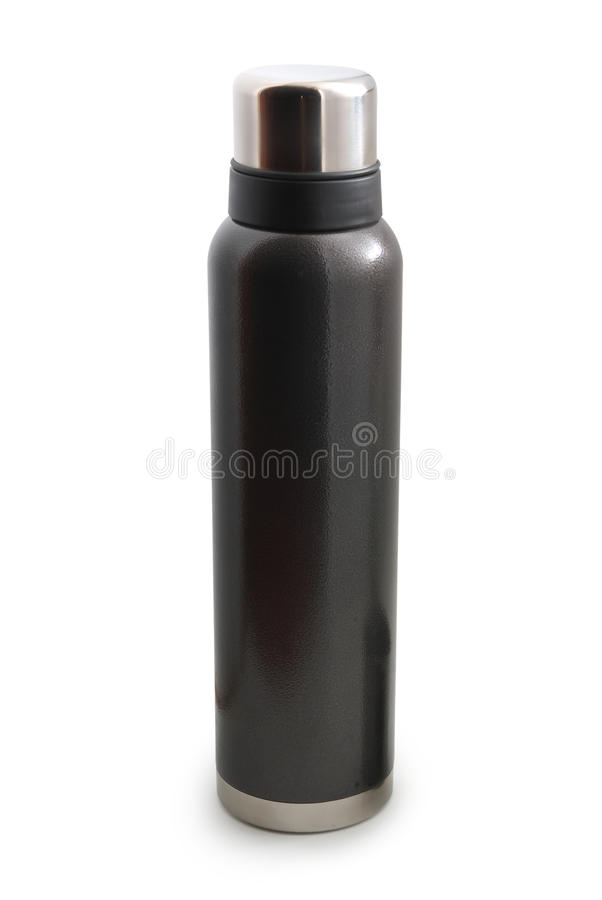 Isolated thermos royalty free stock photography