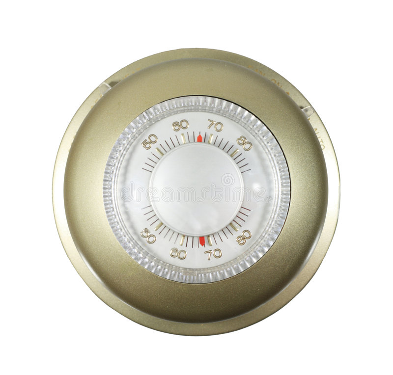 Free Isolated Thermostat Royalty Free Stock Images - 5458199