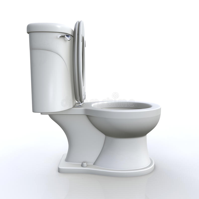 Download Isolated Toilet Stock Photo Image Of Bathroom Water